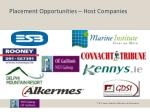 placement opportunities host companies1