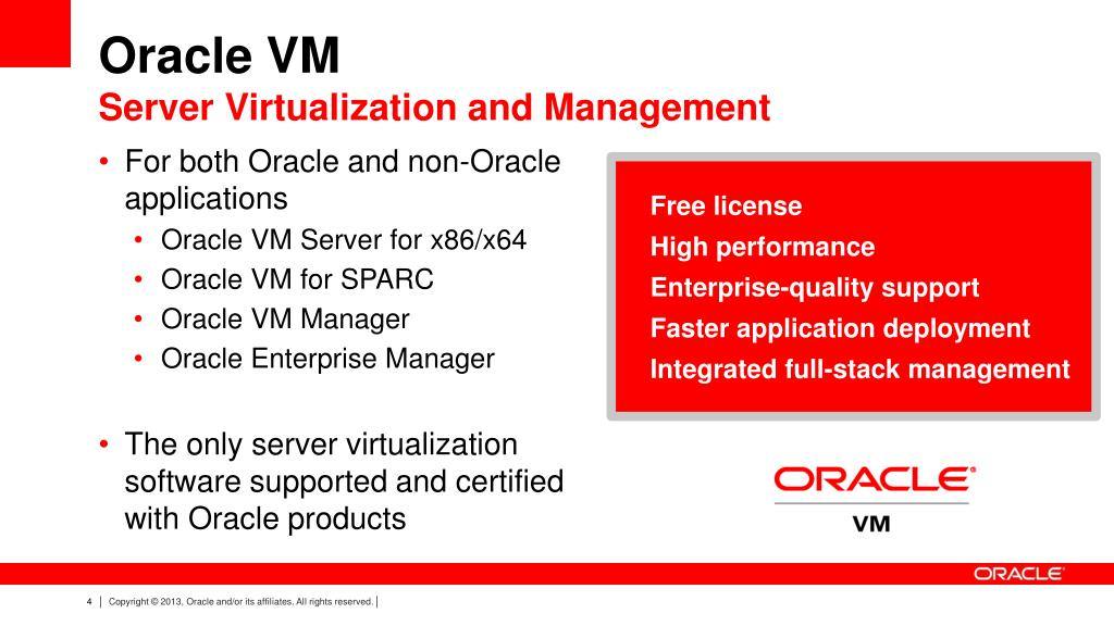 PPT - Oracle VM Server Virtualization (x86) Overview PowerPoint