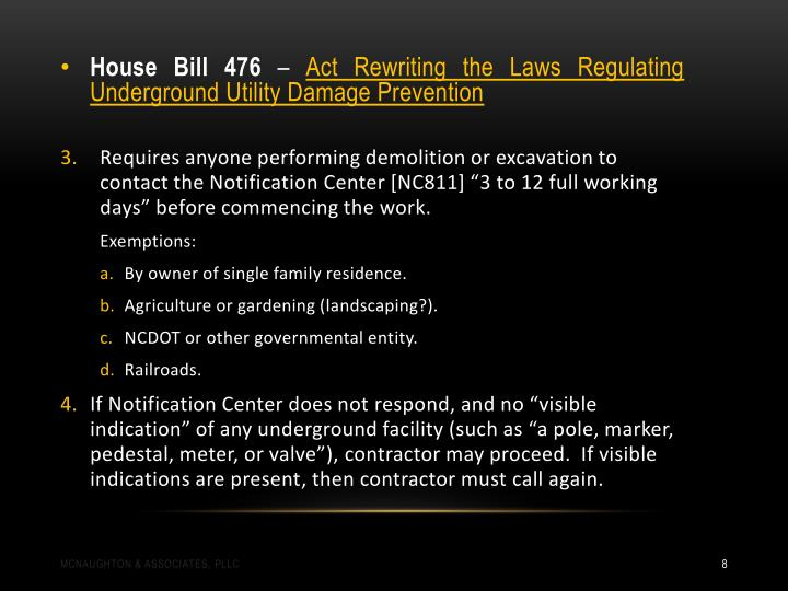 House Bill 476