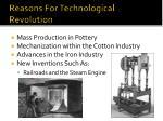 reasons for technological revolution