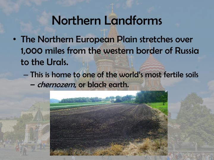 Northern Landforms
