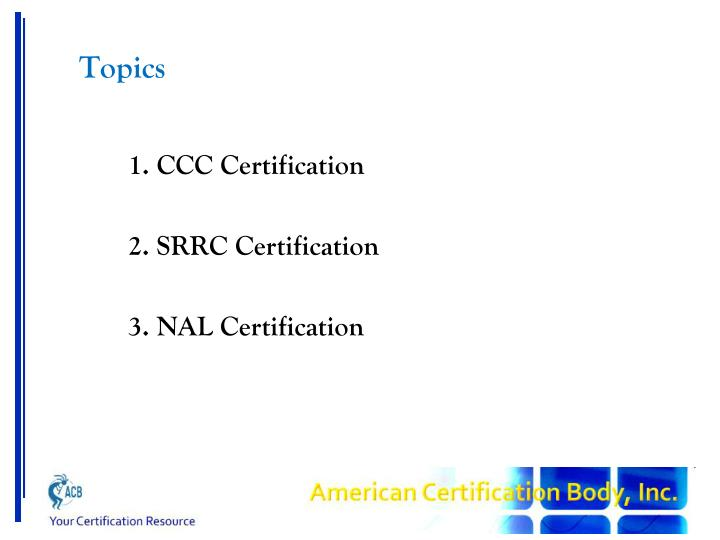 PPT - China Certification Processes PowerPoint Presentation - ID:1694540