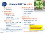 example gs1 t l online