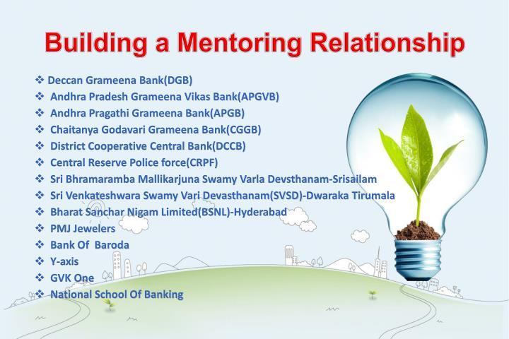 Building a Mentoring Relationship