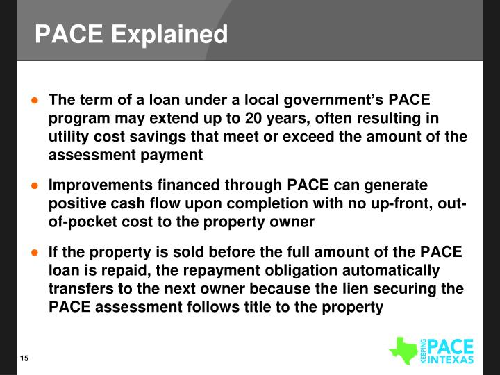 PACE Explained