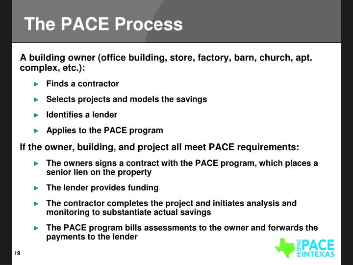 The PACE Process