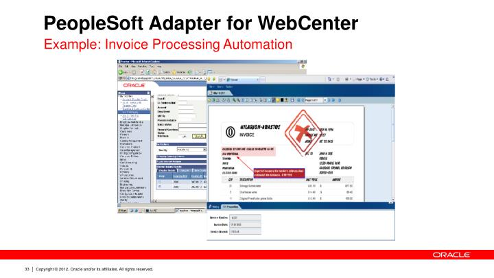 PeopleSoft Adapter for WebCenter