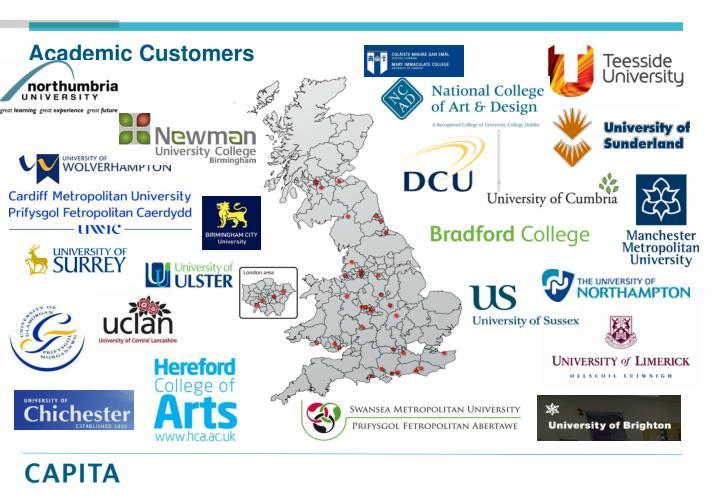 Academic customers