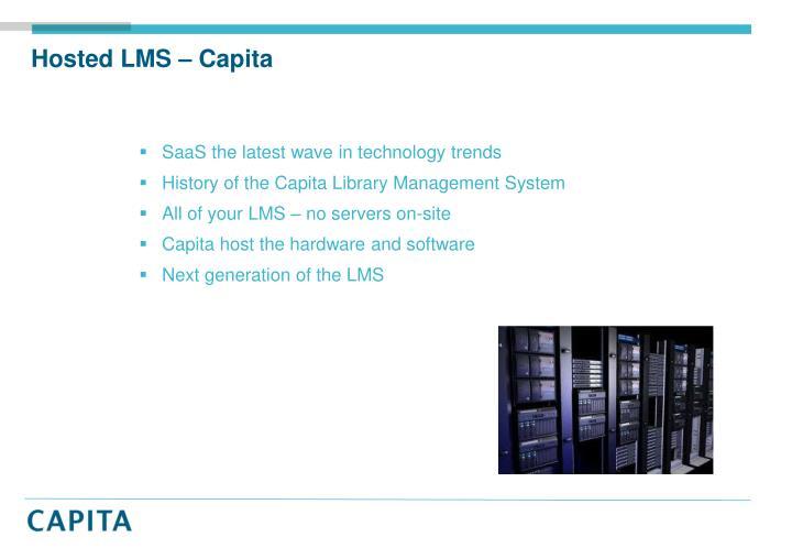 Hosted LMS – Capita