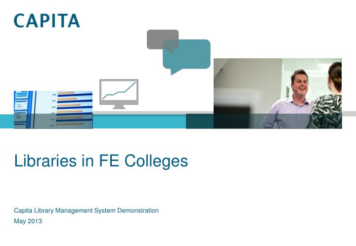 Libraries in fe colleges