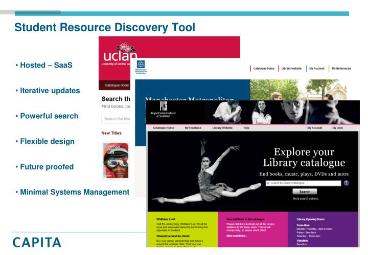 Student Resource Discovery Tool