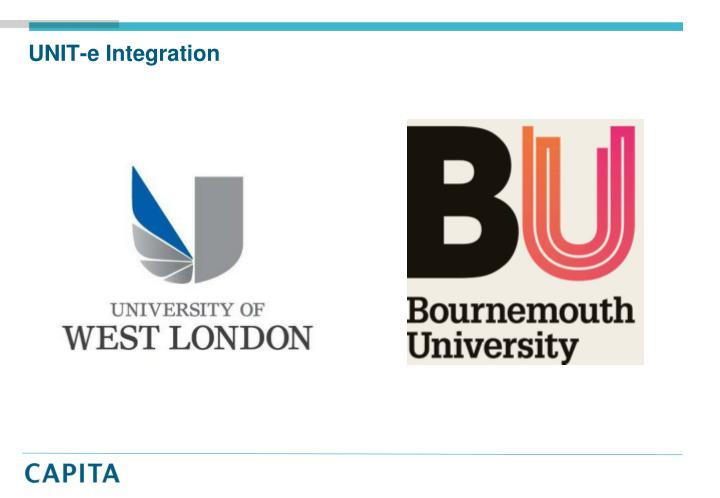 UNIT-e Integration