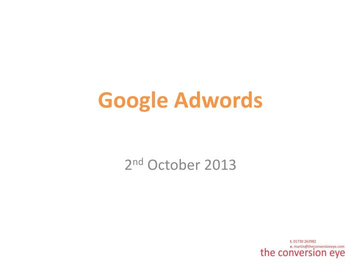 google adwords n.