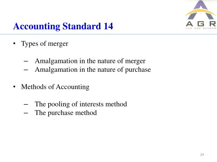 Accounting Standard 14