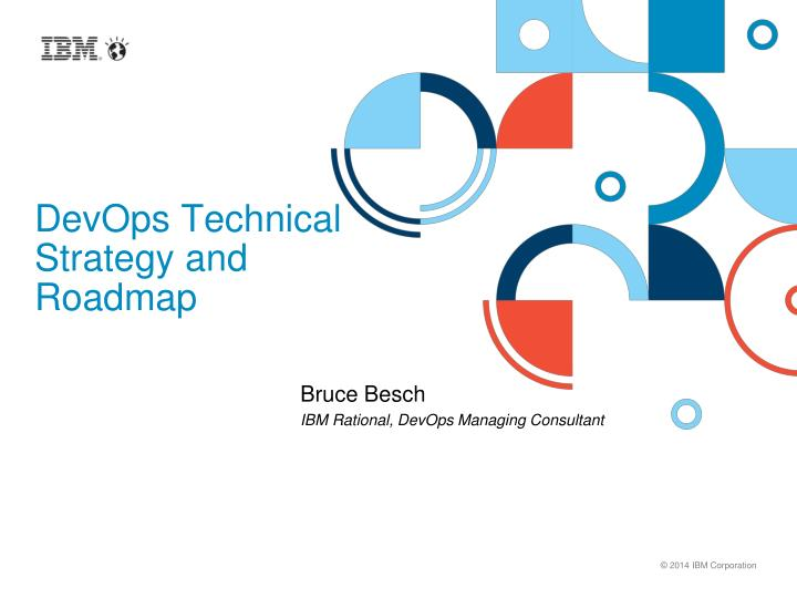 devops technical strategy and roadmap n.