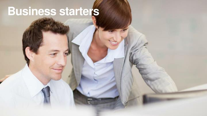 Business starters
