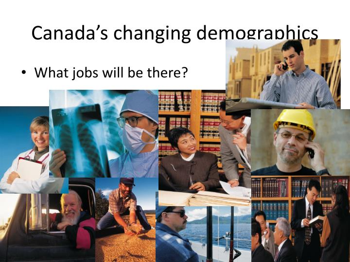 Canada's changing demographics