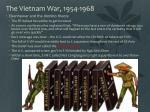 the vietnam war 1954 19681
