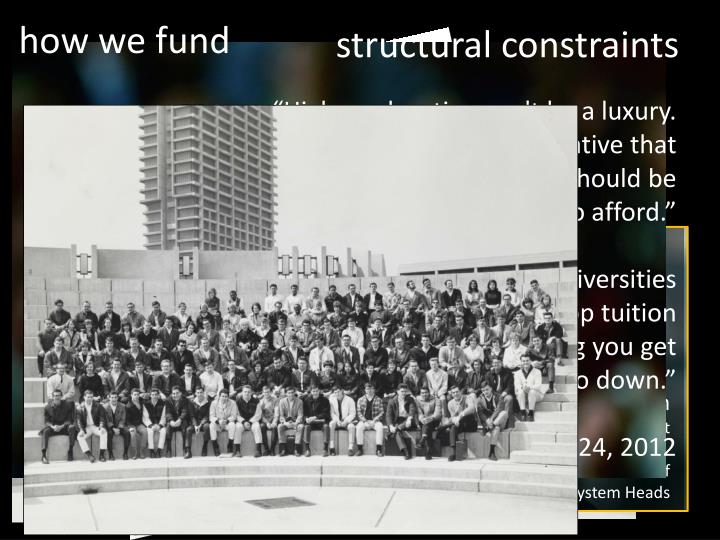 how we fund