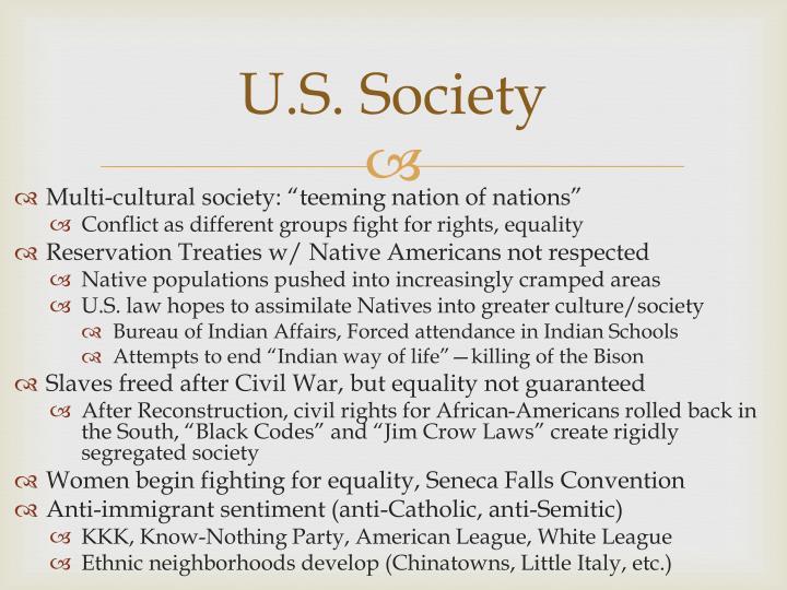 U.S. Society