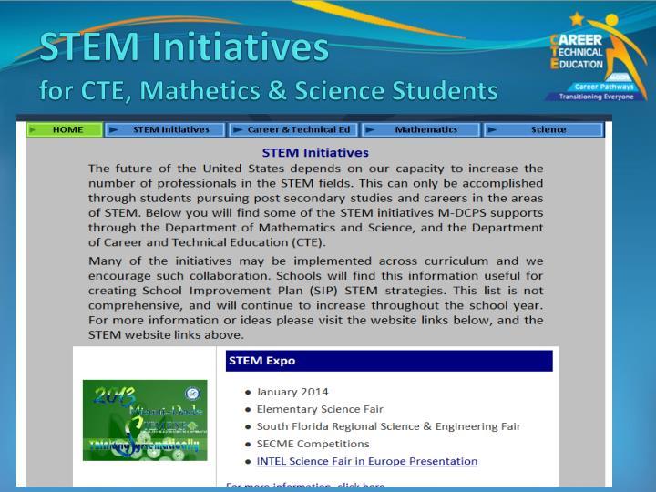 STEM Initiatives