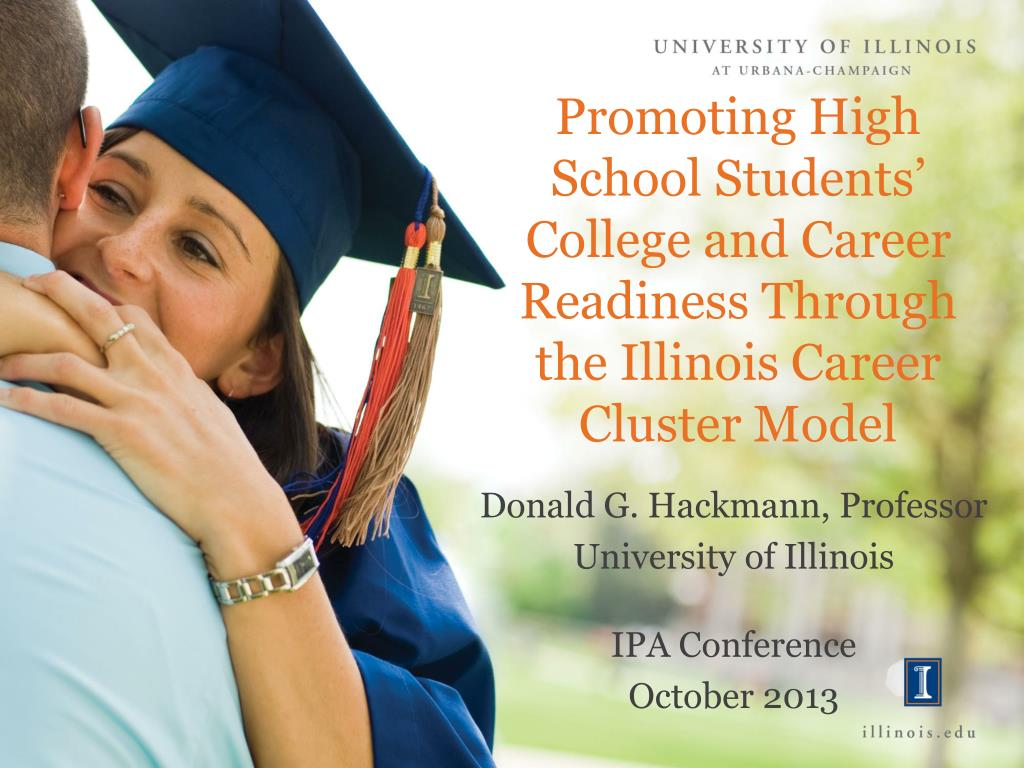Ppt Promoting High School Students College And Career Readiness