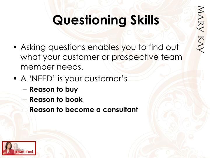 Questioning Skills