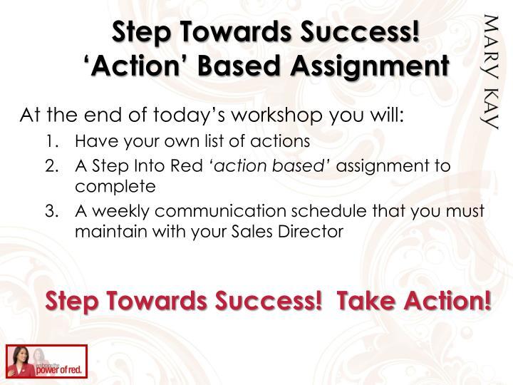 Step Towards Success!
