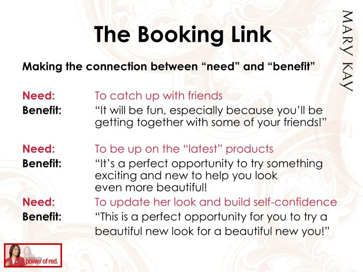 The Booking Link