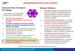 framework of policy on sti bppt
