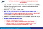 national policy on sti innovation system industrial development