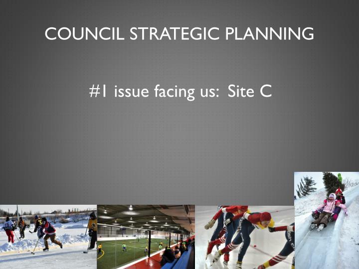 Council strategic planning