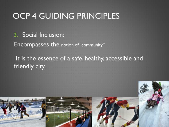 OCP 4 Guiding Principles