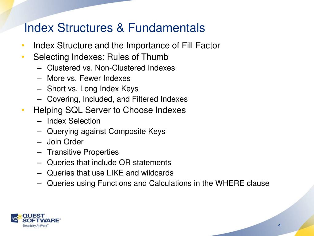 PPT - Index Tuning Strategies for SQL Server PowerPoint