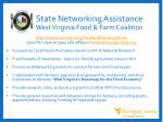 state networking assistance west virginia food farm coalition