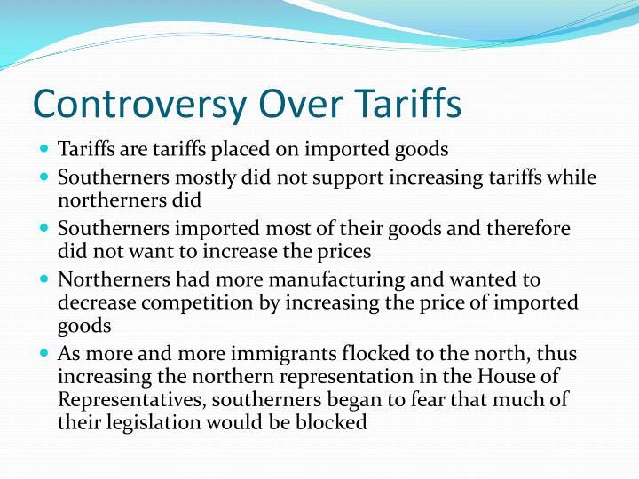 Controversy Over Tariffs