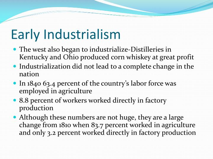 Early Industrialism