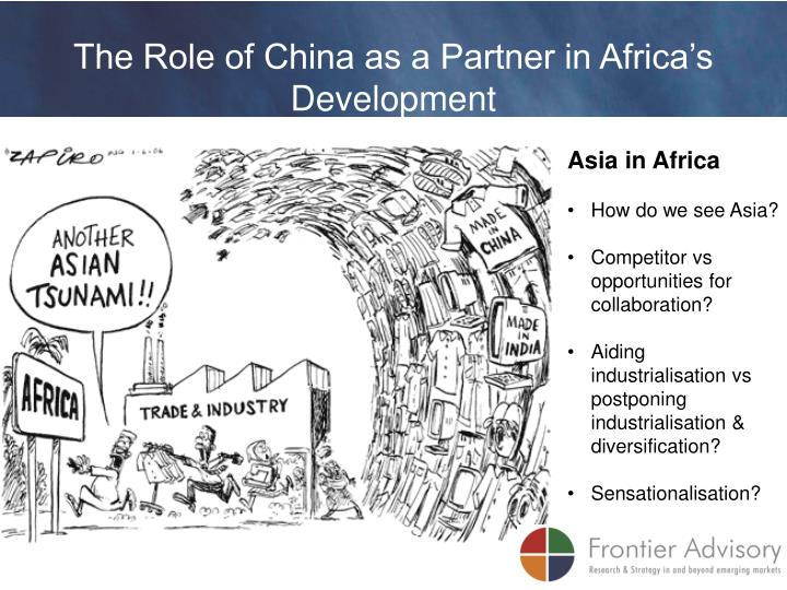 The Role of China as a Partner