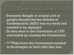 why was the constitution convention called in 1787