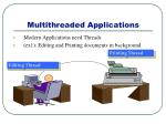 multithreaded applications