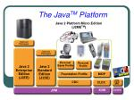 the java tm platform