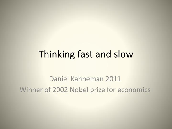 thinking fast and slow daniel kahneman download free