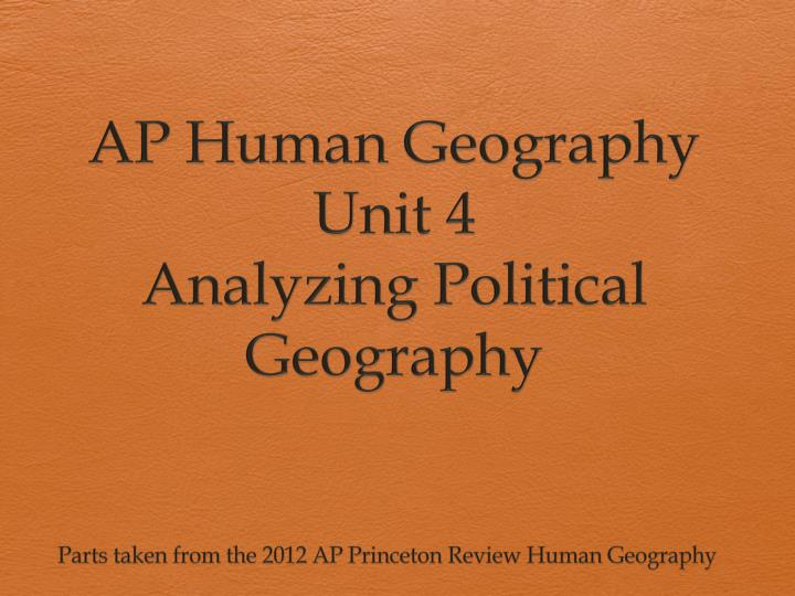 political geography review Balance of power condition of roughly equal strength between opposing countries or alliances of countries boundary invisible line that marks the extent of a state's territory city-state a sovereign state comprising a city and its read more.