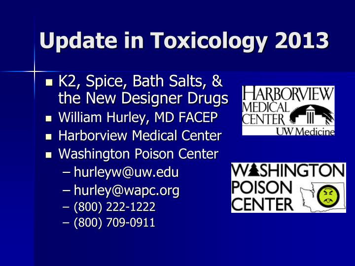 update in toxicology 2013 n.