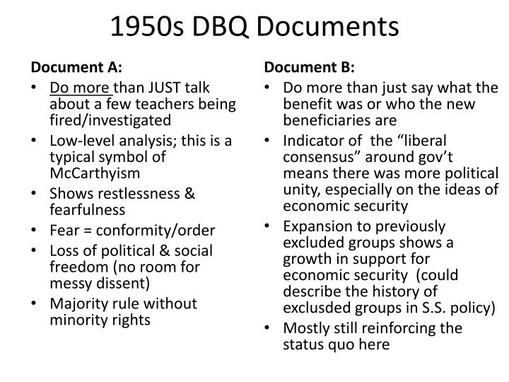 1950s dbq 1920s dbq essays and research papers search 1920s dbq of the middle-class prosperity of the decade other groups were culturally excluded 1920s and 1950s dbq.