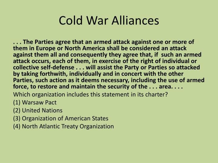 Cold War Alliances