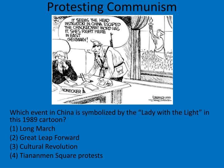 Protesting Communism