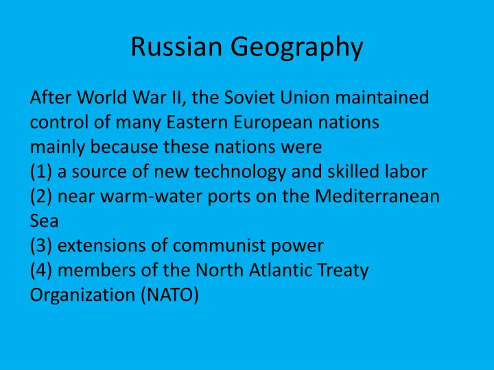Russian Geography
