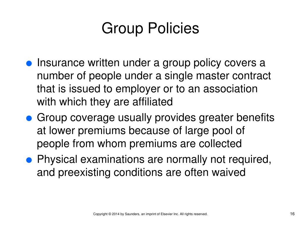 PPT - Chapter 20 Basics of Health Insurance PowerPoint ...