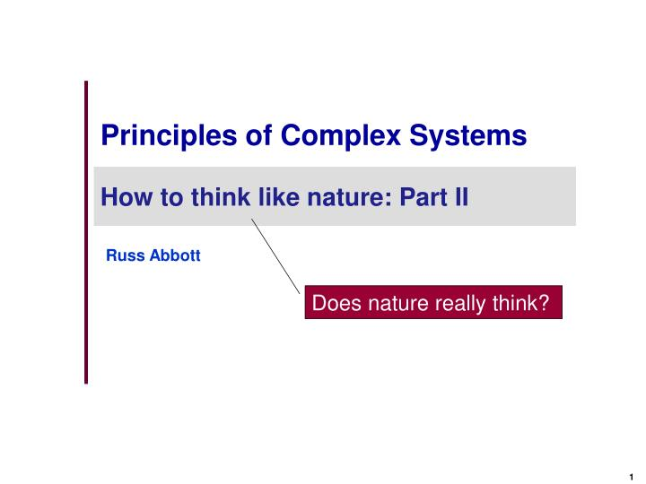 principles of complex systems n.